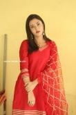 Megha Chowdhury stills in red dress (5)