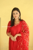 Megha Chowdhury stills in red dress (8)