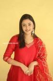 Megha Chowdhury stills in red dress (9)