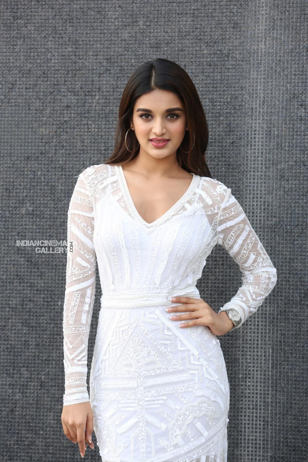 Niddhi agarwal in white dress stills (10)