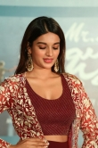 Nidhhi Agerwal at mr majnu pre release press meet (10)