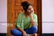 Noorin Shereef photo shoot in green dress (4)