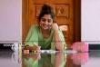 Noorin Shereef photo shoot in green dress (7)