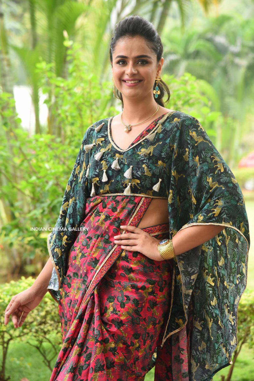 Prachi Tehlan at Mamangam Movie Trailer Launch (16)