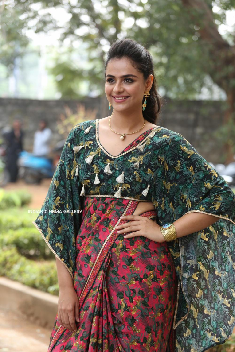 Prachi Tehlan at Mamangam Movie Trailer Launch (5)