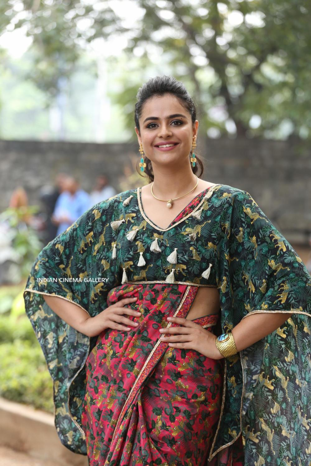 Prachi Tehlan at Mamangam Movie Trailer Launch (7)