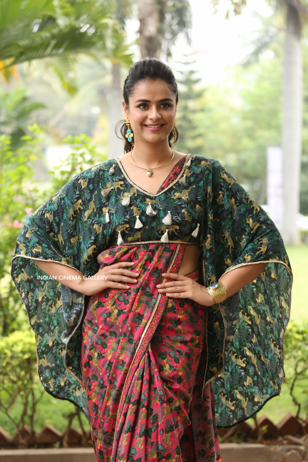Prachi Tehlan at Mamangam Movie Trailer Launch (8)