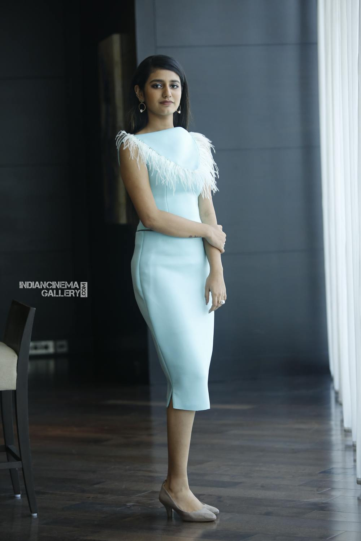 Priya Varrier during interview stills (1)