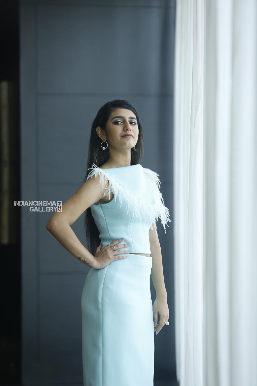 Priya Varrier during interview stills (11)