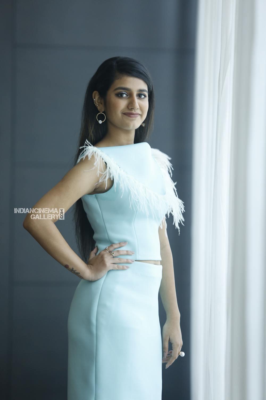 Priya Varrier during interview stills (12)