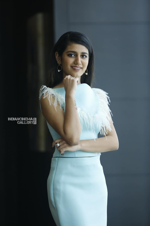 Priya Varrier during interview stills (3)