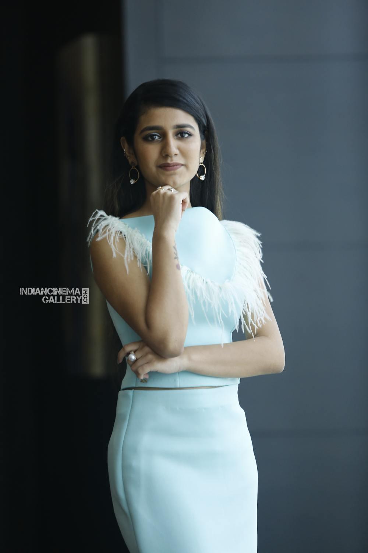 Priya Varrier during interview stills (4)