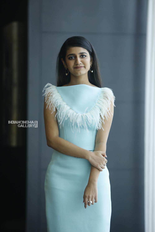 Priya Varrier during interview stills (7)