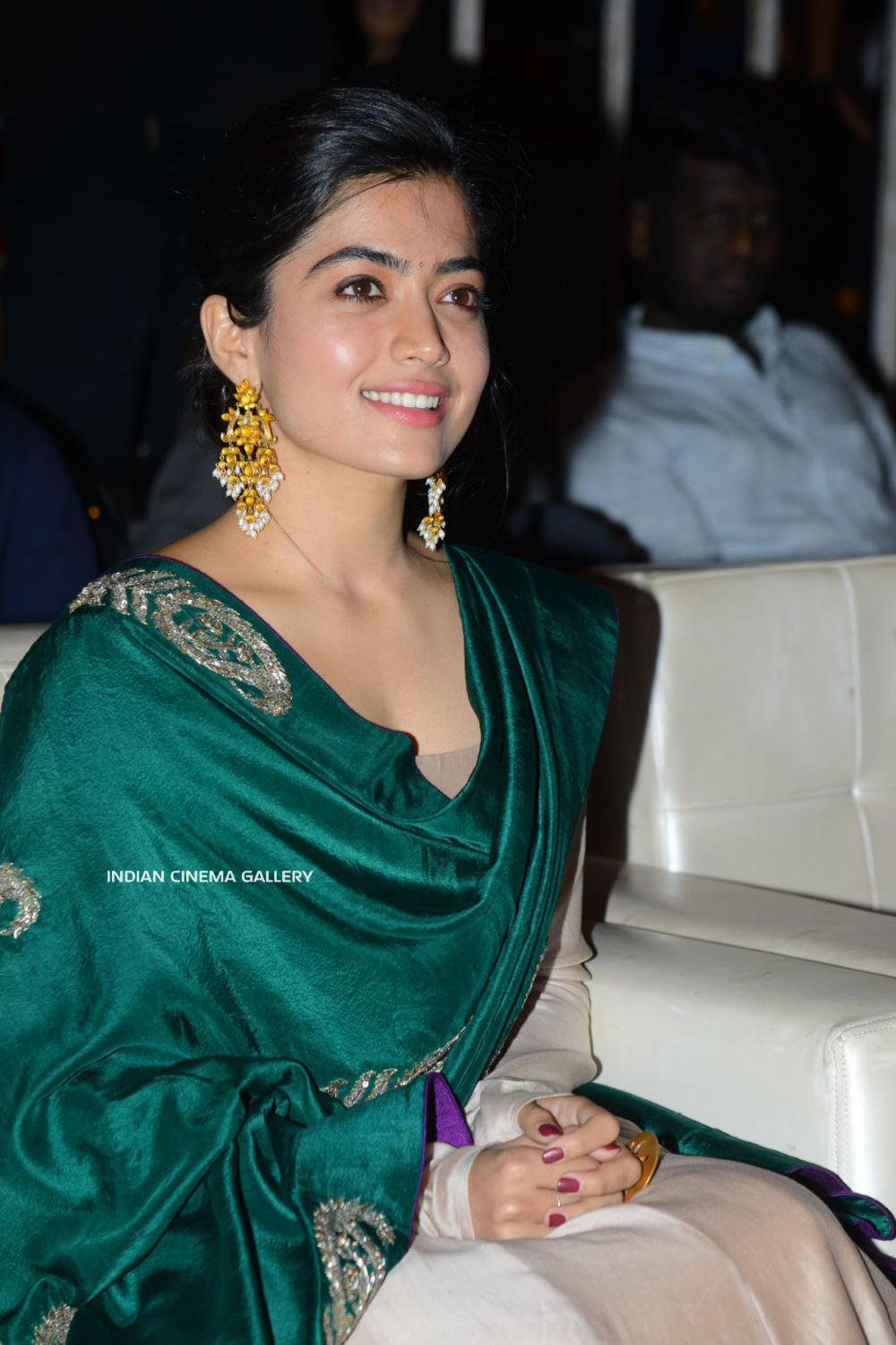 Rashmika At Bheeshma Thanks Meet 10