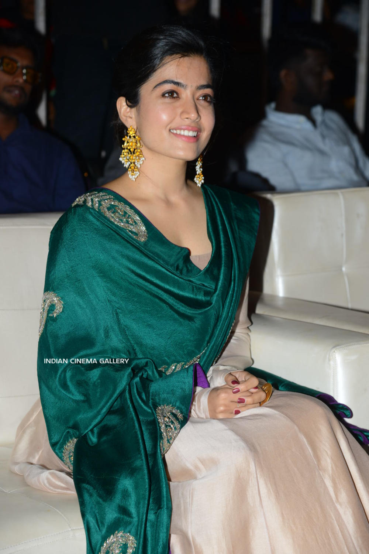 Rashmika At Bheeshma Thanks Meet 11