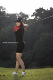 Riya Suman in black dress (a)