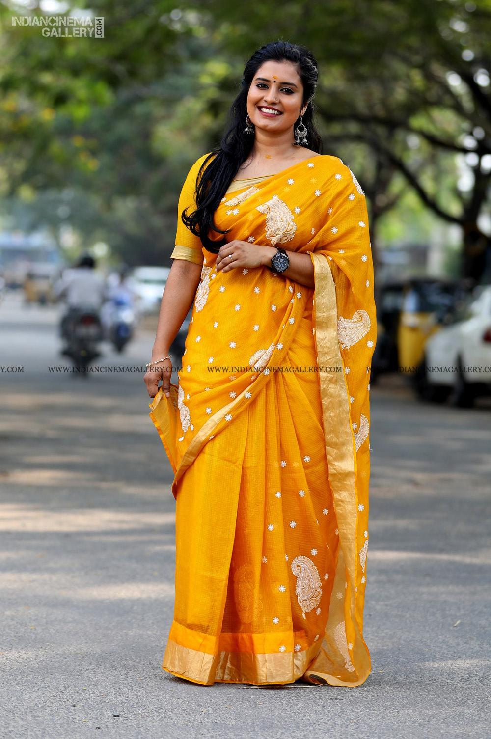 Roshna Ann Roy at Vritham Movie Launch (13)