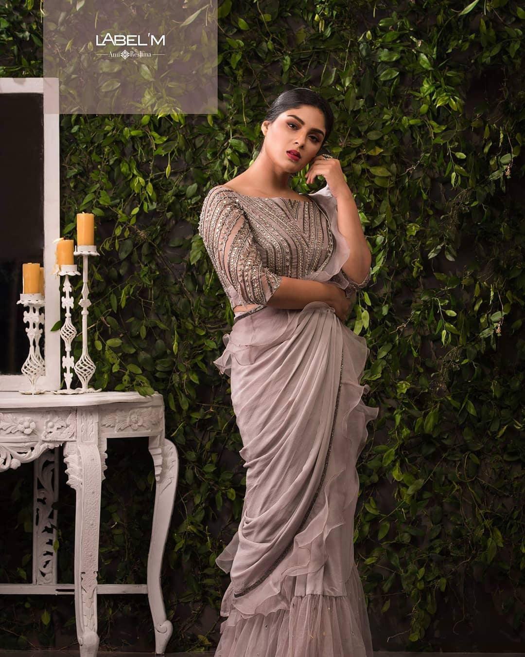Samyuktha menon photo shoot for label m designers (10)