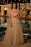 Saniya Iyappan at sunny wayne marriage reception (1)