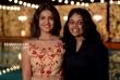 Saniya Iyappan at sunny wayne marriage reception (6)