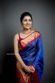 Vani Bhojan in blue saree (2)