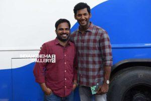 Vishal released director & dialogue writer BrindaSarathi's Meengal